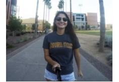 Izabela Fontes Avolio passou 11 meses estudando na Arizona State University e três meses fazendo estágio na University of Colora